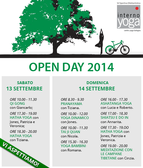 openday 2014 internoyoga