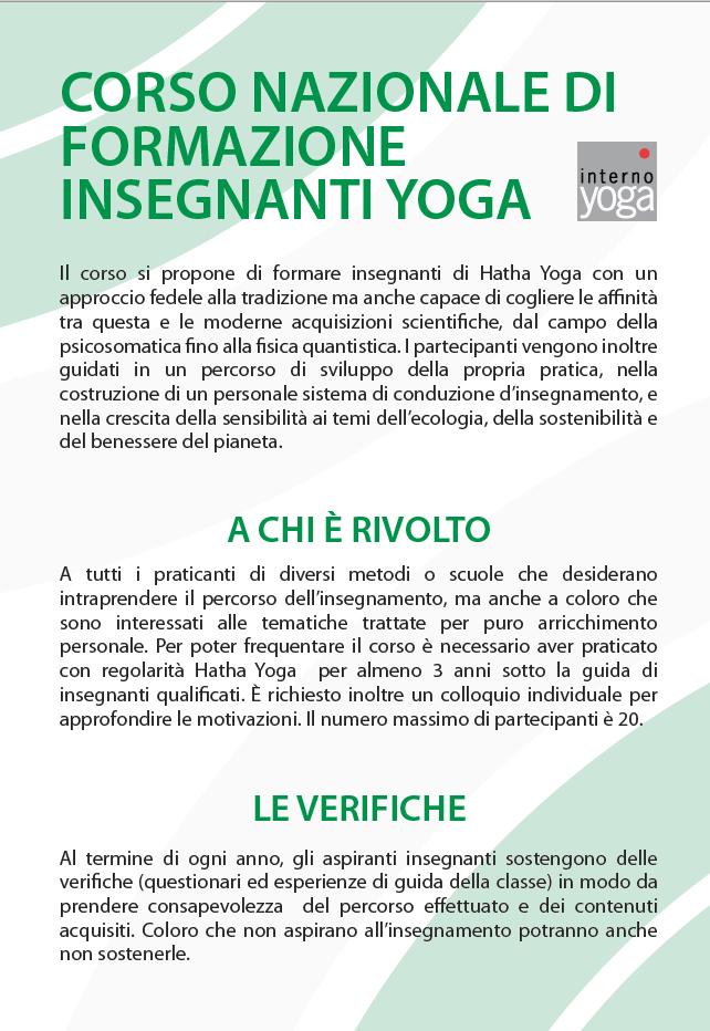 Formazione insegnanti yoga internoyoga