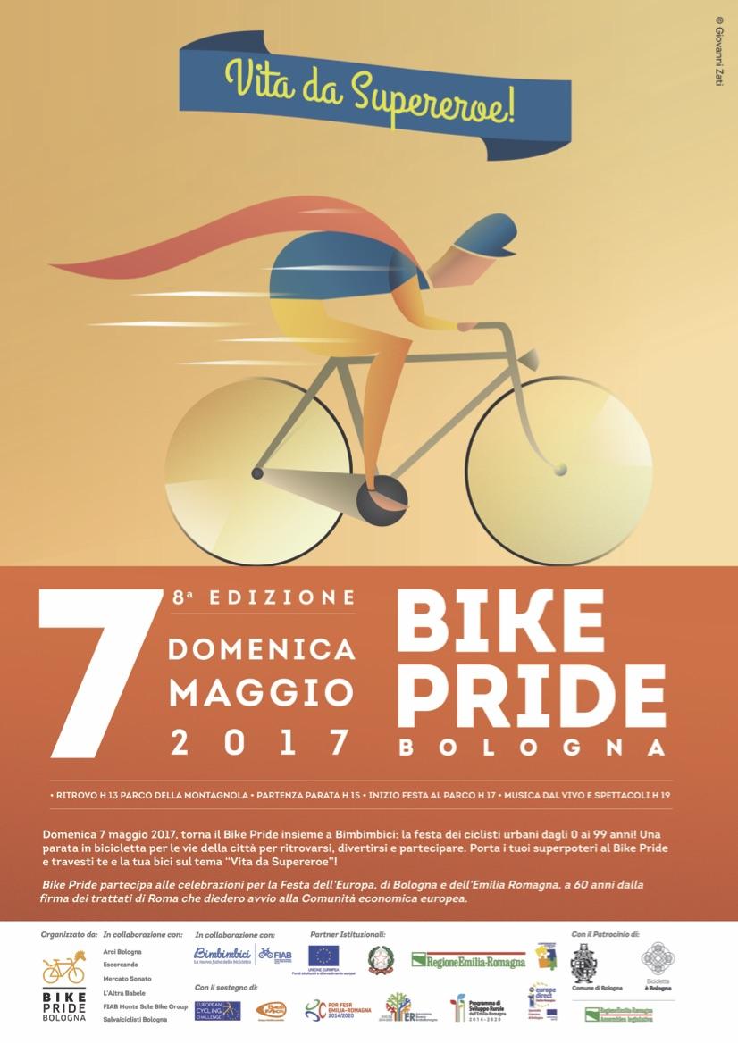 Bike Pride 2017 Bologna locandina